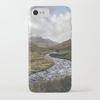 cassia beck iPhone & iPod Cases featuring Gatesgarth Beck flowing through the Honister Pass. Cumbria, UK. by liamgrantfoto