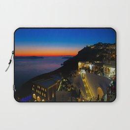 fira sunset-Santorini Laptop Sleeve