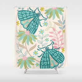 TWO MOTHS Shower Curtain