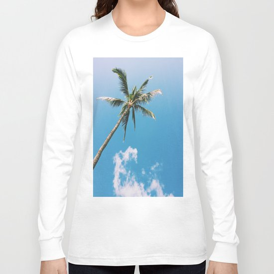 Clouds and Palms  Long Sleeve T-shirt