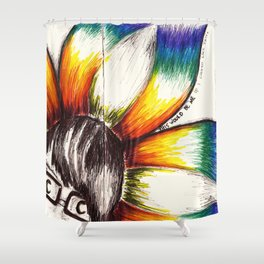 """This Would Be Me If I Looked Like This"" Flowerkid Shower Curtain"