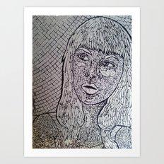 Reflect - Broken Mirror Mosaic Art Print