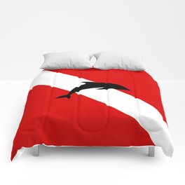 Diving Flag: Dolphin Comforters