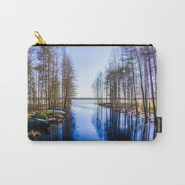 Pappilanjoki, Finland, Juva Carry-All Pouch