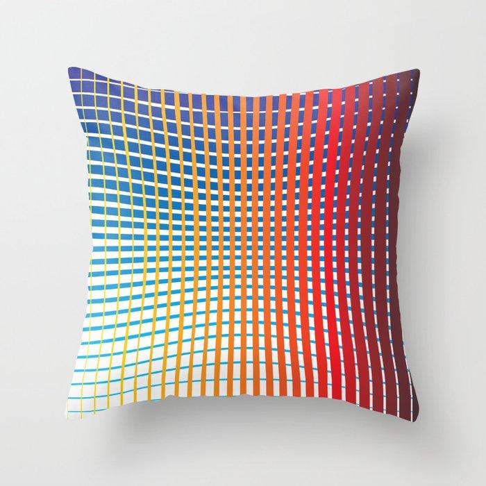 Spec Trum Throw Pillow