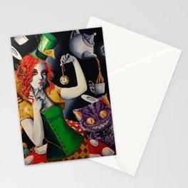 Sombrerera loca Stationery Cards