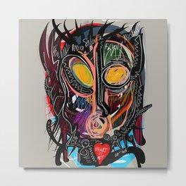 Heart is Art Metal Print