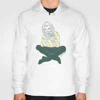 cyrilliart Hoodies featuring Banana Boy by Cyrilliart