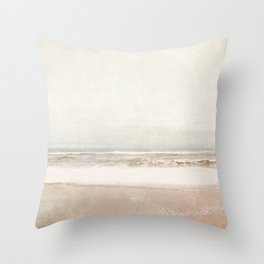 The Timeless Sea Throw Pillow