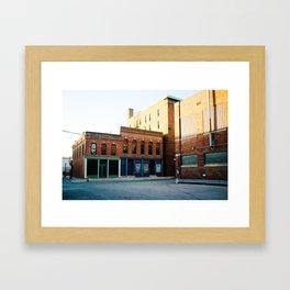 Downtown Framed Art Print