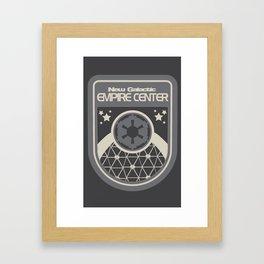 New Galactic Empire Center 4 Framed Art Print