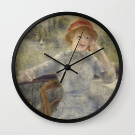 Alphonsine Fournaise Wall Clock