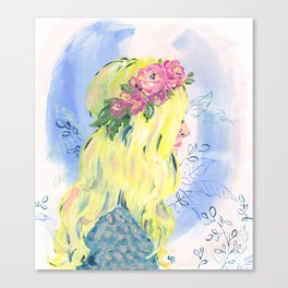 Spring time Vibes Canvas Print