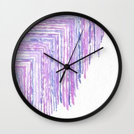 Overflowing Wall Clock