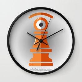 pawn's eye Wall Clock