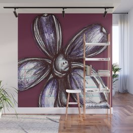 """""""Bound up by Bandages"""" Flowerkid Wall Mural"""