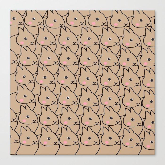 Rabbit-70 Canvas Print