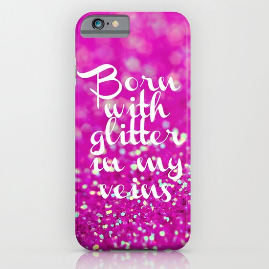 Glitter in my Veins II (Photo of Glitter) iPhone & iPod Case