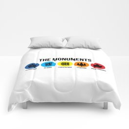 THE MONUMENTS Comforters