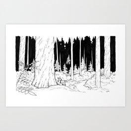 Shy Art Print
