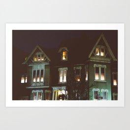 Haunted House Art Print