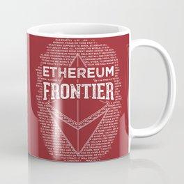 Ethereum Frontier (dark red) Coffee Mug
