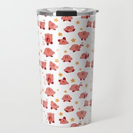 Kirby Pattern Travel Mug