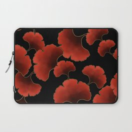 Red ginkgo Laptop Sleeve