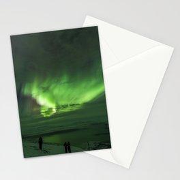 Northern Lights in Abisko Sweden Stationery Cards