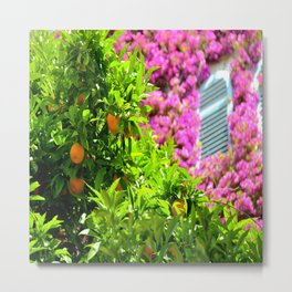 The Perfect Combo In Eze Village Metal Print