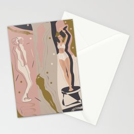 What if an artist falls in love with you?.. Stationery Cards