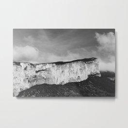 Rhône-Alpes No.2 Metal Print