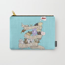 All the Dogs in Color Carry-All Pouch