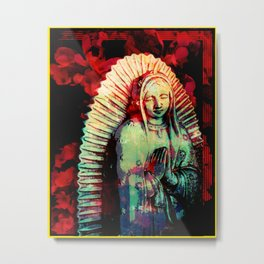 Silent Goddess Metal Print
