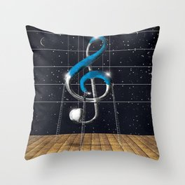 Composizione musicale Throw Pillow