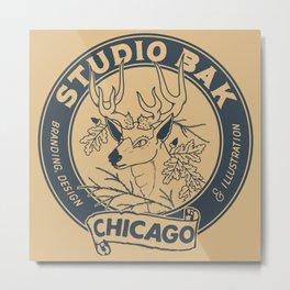 Studio Bak Metal Print