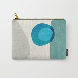 Stacking Pebbles Blue Carry-All Pouch