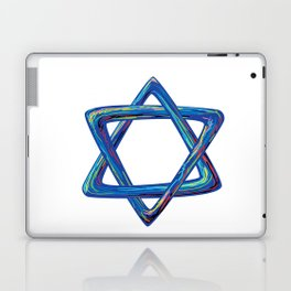 Shield of David. Star of David Laptop & iPad Skin