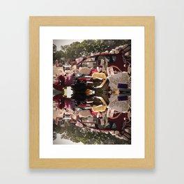 Garage Sale Framed Art Print