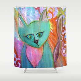 Kittie Shower Curtain