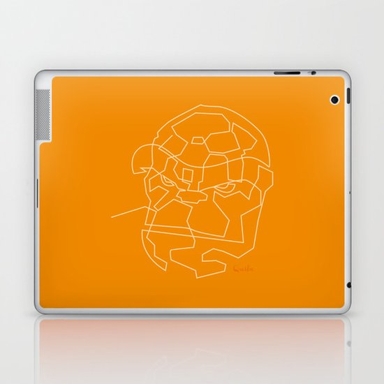 One Line The Thing Laptop & iPad Skin