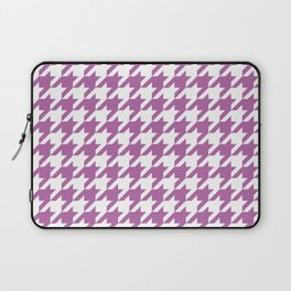 Radiant Orchid Houndstooth - Baby Stimulation Pattern Laptop Sleeve