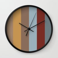 copenhagen Wall Clocks featuring Copenhagen by Ron Trickett