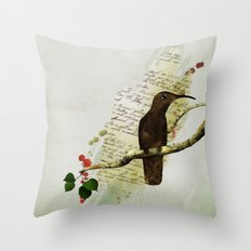 Preety Dirty Little Things Throw Pillow
