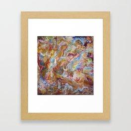 no. 42 (sticky) Framed Art Print