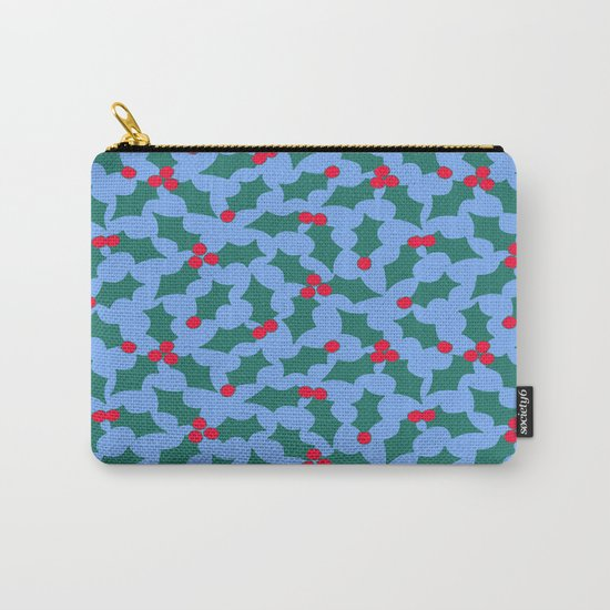 Holly Tree Carry-All Pouch