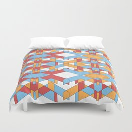 Expeditions Duvet Cover
