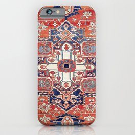 Heriz Azerbaijan Northwest Persian Rug Print iPhone Case