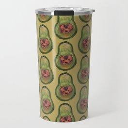 bear avocado Travel Mug