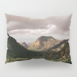 Mountain View in Big Bend National Park Pillow Sham